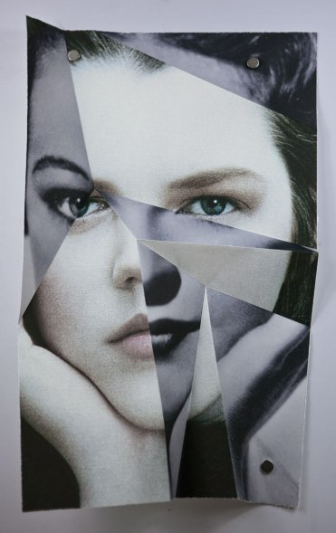 Claire Manning, 'Folded Evelyn Venable July 2014'
